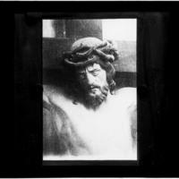 Tête de Christ en bois sculpté (attribué à Ligier Richier)