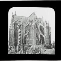 Chevet de la cathédrale de Metz