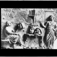 Bas-relief hellénistique
