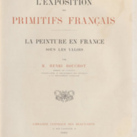 L'exposition des primitifs français, La peinture en France sous les Valois
