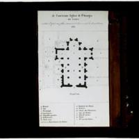 Plan de l'ancienne église Saint-Georges