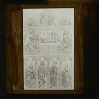 L'Adoration de l'Agneau mystique (d'après Hubert et Jan van Eyck)