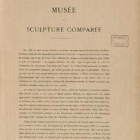 Album du musée de sculpture comparée (Palais du Trocadéro)