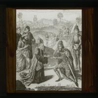 La Rencontre d'Abraham et Melchisédech (d'après Dieric Bouts)