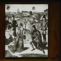 La Rencontre d'Abraham et Melchisédech (Dieric Bouts)