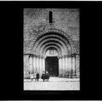 Portail de la Tour carrée de l'église Saint-Maurice d'Épinal