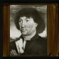 Portrait d'un homme de la famille Lespinette (Hans Memling)