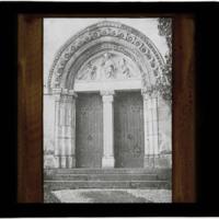 Ancien portail de l'église Notre-Dame de Nancy