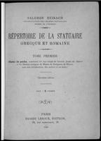 Salomon Reinach, Répertoire de la statuaire grecque et romaine.jpg
