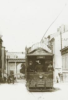 Rue du faubourg Stanislas à Nancy